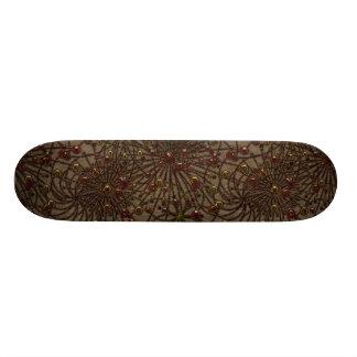 Beaded Arrangement Skate Boards