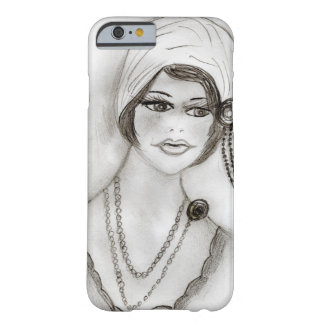Beaded Flapper Girl Barely There iPhone 6 Case