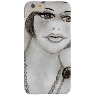 Beaded Flapper Girl Barely There iPhone 6 Plus Case