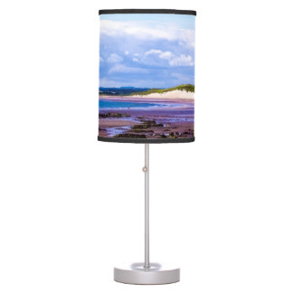 Beadnell Bay Northumberland Table Lamp