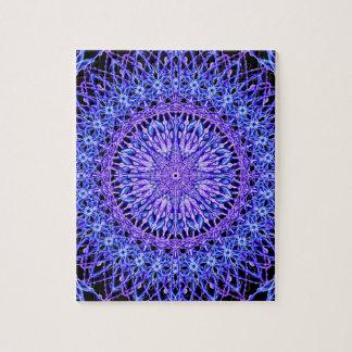 Beads of Light Mandala Jigsaw Puzzle