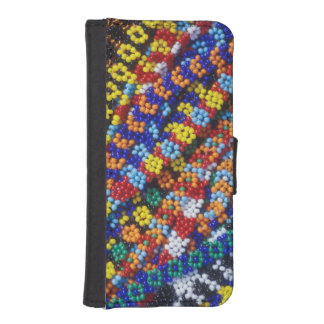 Beadwork, Melmoth, Kwazulu-Natal, South Africa iPhone SE/5/5s Wallet Case