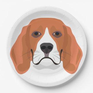 Beagle01_01_B_Quadrat.ai Paper Plate