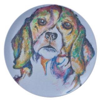Beagle 1 plate