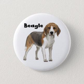 Beagle 2 Inch Round Button