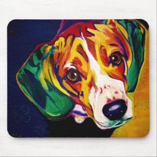 Beagle #5 mouse pad