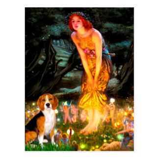 Beagle 7 - MidEve Postcard