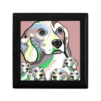 Beagle and Babies Soft Color Palette Gift Box