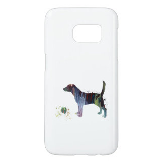 Beagle and toy samsung galaxy s7 case