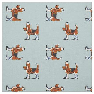 Beagle Bay Stone Blue Fabric