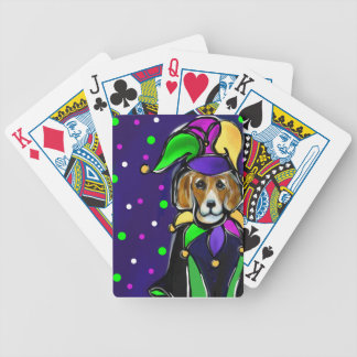 BEAGLE BICYCLE PLAYING CARDS
