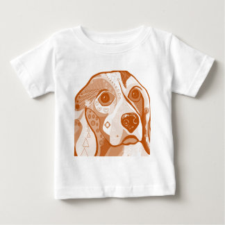 Beagle Brown Tones Baby T-Shirt