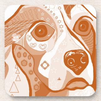 Beagle Brown Tones Coaster