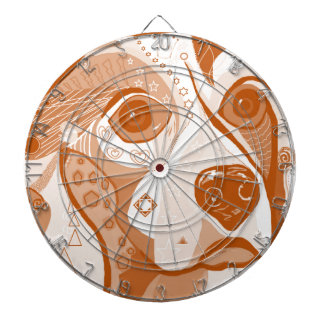 Beagle Brown Tones Dartboard