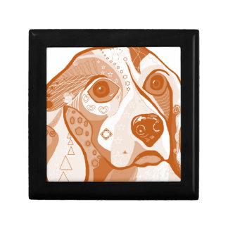 Beagle Brown Tones Gift Box