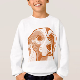 Beagle Brown Tones Sweatshirt