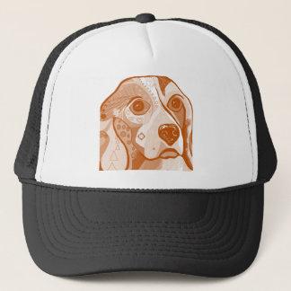 Beagle Brown Tones Trucker Hat