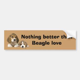 Beagle Buddies Bumper Sticker