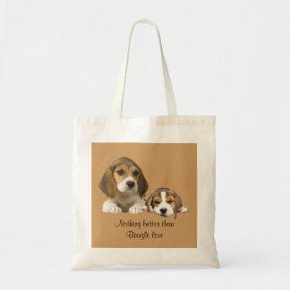 Beagle Buddies Tote Bag