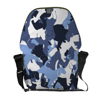 Beagle camouflage commuter bag