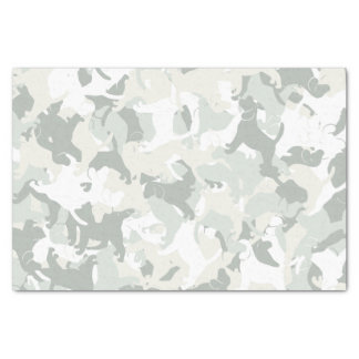 Beagle camouflage tissue paper