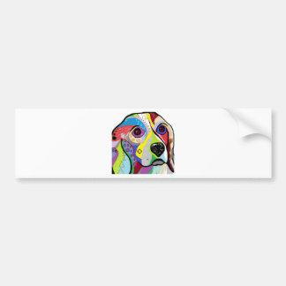 Beagle Close-up Bumper Sticker