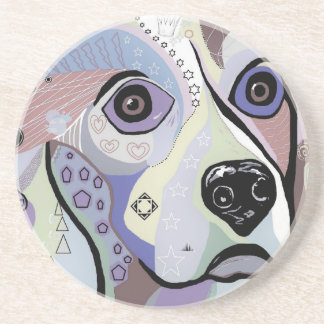 Beagle DENIM Colors Coaster