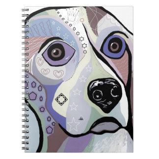 Beagle DENIM Colors Notebook