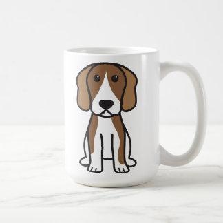 Beagle Dog Cartoon Coffee Mug