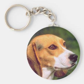 Beagle Dog Keychain