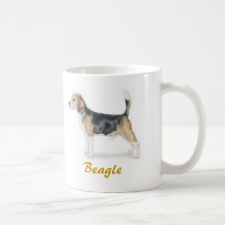 Beagle, Dog Lover Galore! Basic White Mug