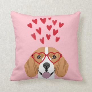 Beagle Dog PIllow - throw pillow