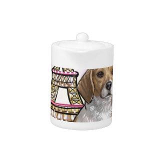 beagle eiffel tower paris