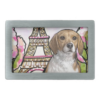 beagle eiffel tower paris belt buckles