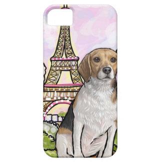 beagle eiffel tower paris iPhone 5 covers
