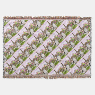 beagle eiffel tower paris throw blanket