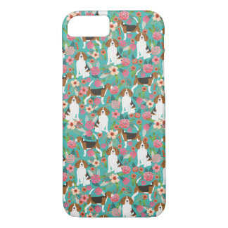 Beagle Floral iphone case