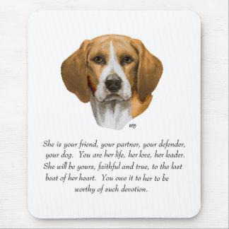 Beagle Keepsake Mouse Pad