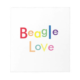 Beagle Love Notepad