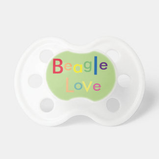 Beagle Love Pacifier