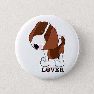 Beagle Lover 2 Inch Round Button