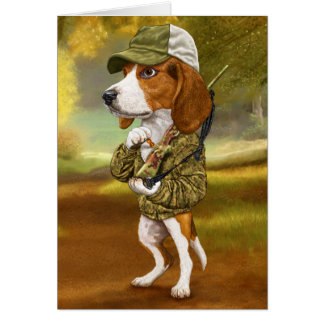 Beagle - Mighty Hunter Card