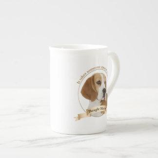 Beagle Mom Bone China Mug