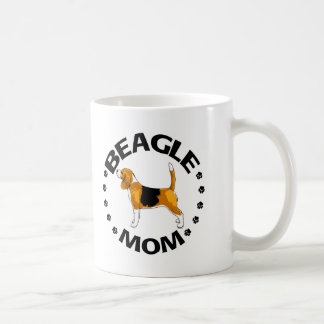 Beagle Mom Coffee Mug