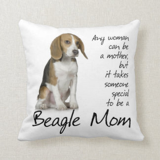 Beagle Mom Pillow