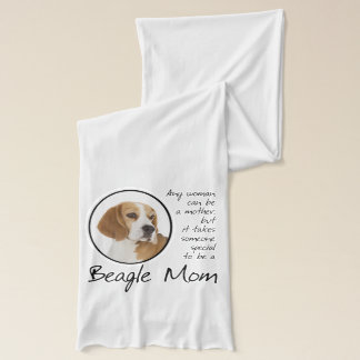 Beagle Mom Scarf