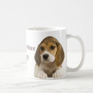 Beagle My Kids Have 4 Legs Mug