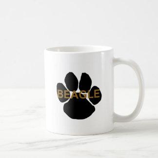 beagle name paw coffee mug