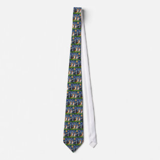 Beagle Pair - Starry Night Tie