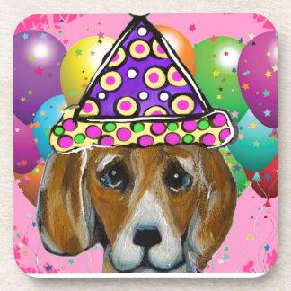 Beagle Party Dog Coaster